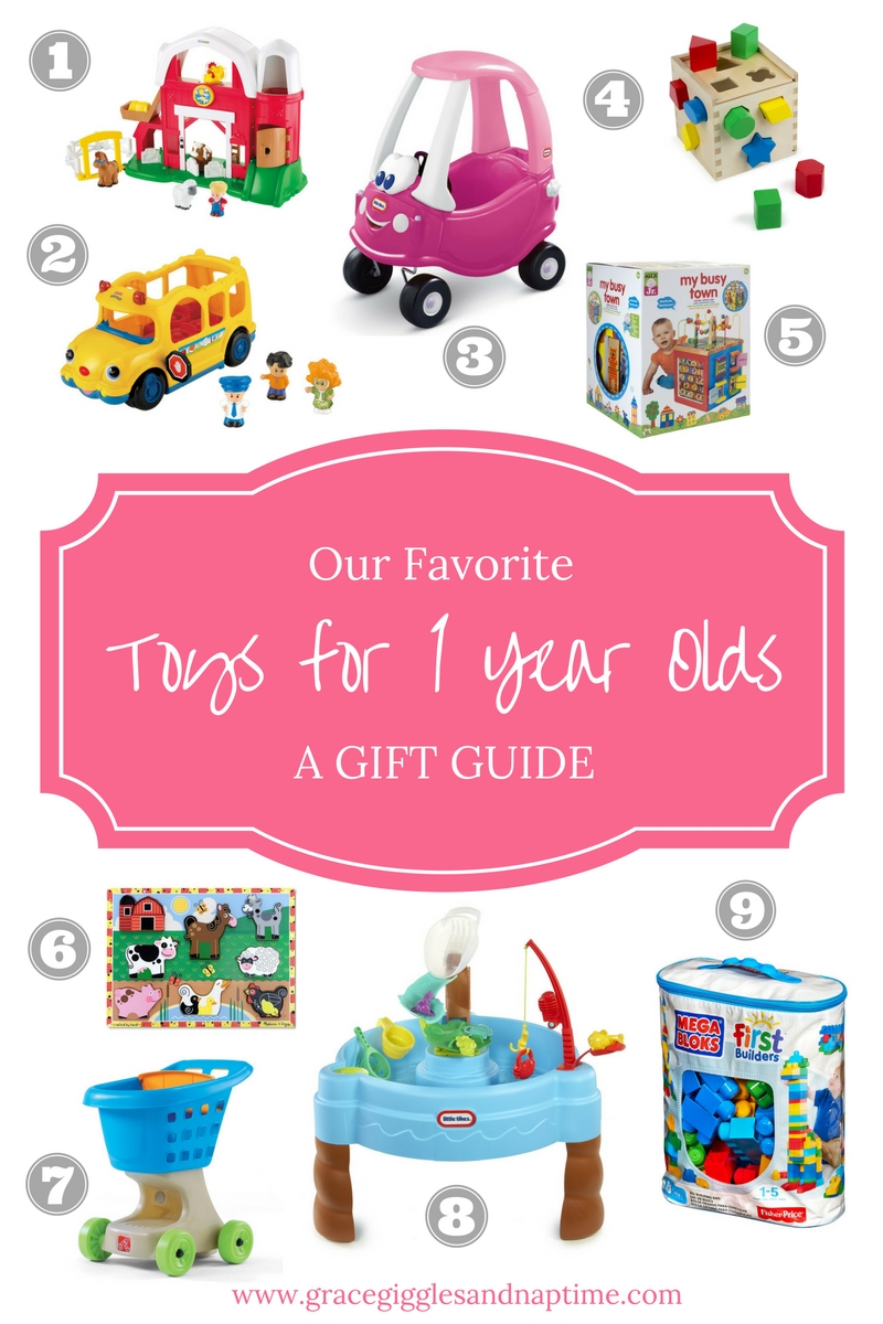 One Year Old Favorite Toys : Our favorite toys for one year olds a gift guide grace